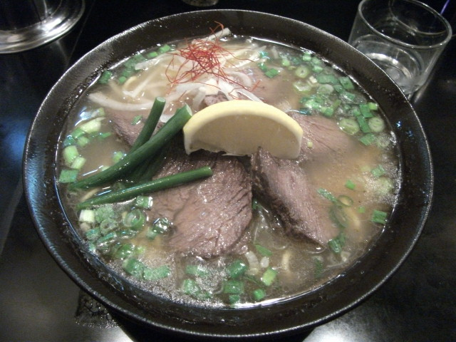 RAMEN:麺家うえだ@志木