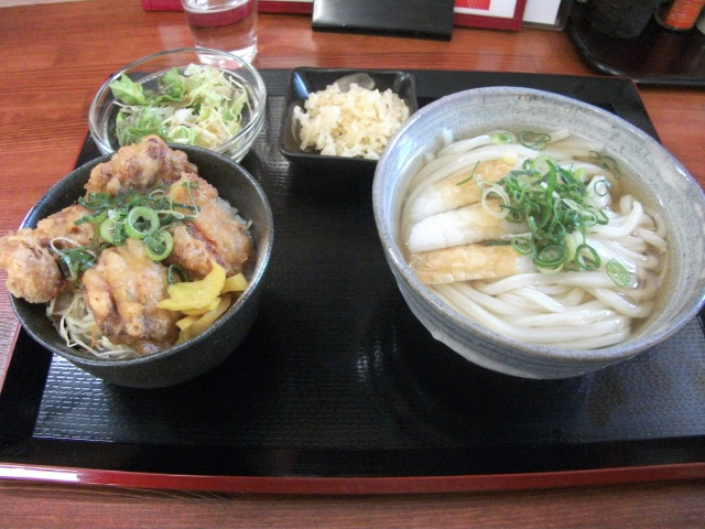 UDON:さぬきの麺家香風@宇多津